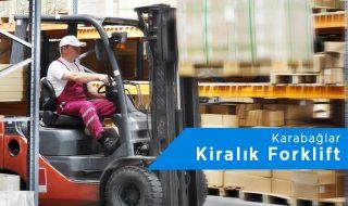 Karabağlar Forklift Kiralama | 0542 821 98 33