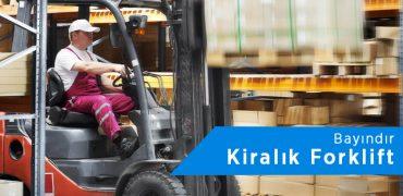 Bayındır Forklift Kiralama | 0542 821 98 33