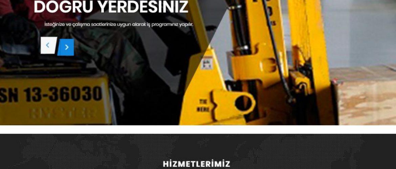İzmirde Kiralık Forklift Web Sitemiz Yayında