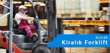 Konak Forklift Kiralama | 0542 821 98 33