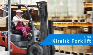 Urla Forklift Kiralama | 0542 821 98 33